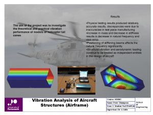 Vibration Analysis of Aircraft Structures (Airframe)