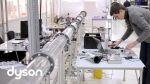 Helmholtz cavities help Dyson engineers reduce the noise of Dyson's new bladeless fans - YouTube